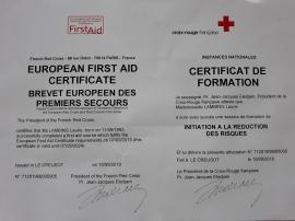 Certificat formation PSC1